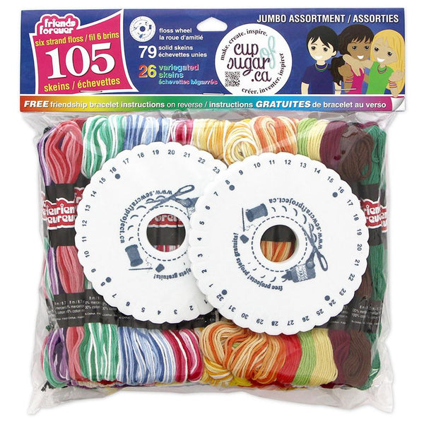 Midoco.ca: Prism Embroidery Floss 105 Pack