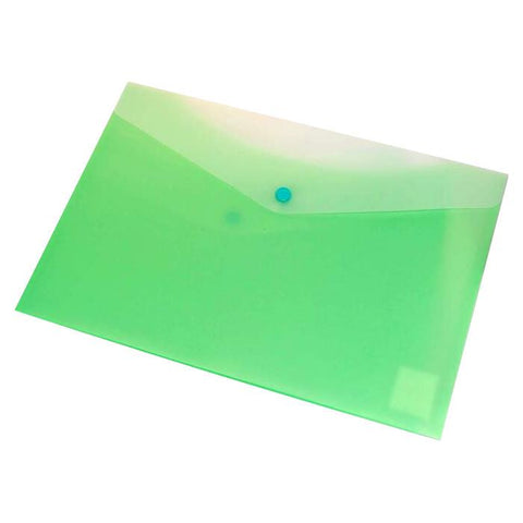 Filexec Poly Envelope 2 Pocket Letter Size Lime