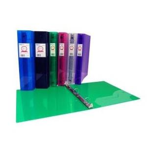 "FileMode Poly O-Ring Binder 1"" Assorted Colours"