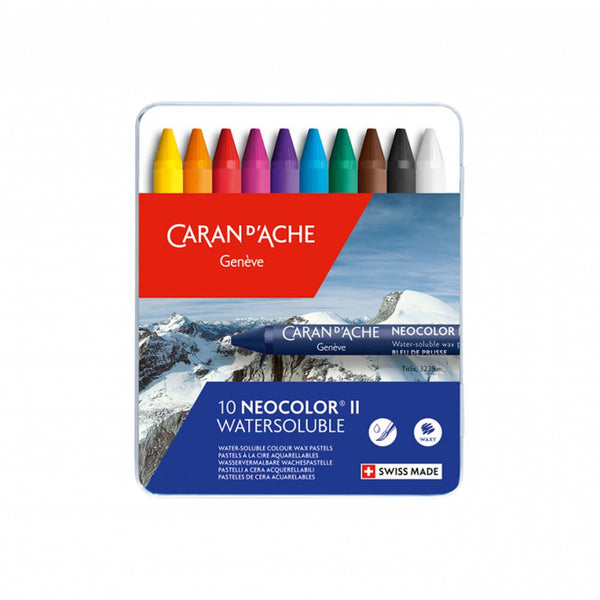 Caran d'Ache Neocolor II Watersoluble 10 Set