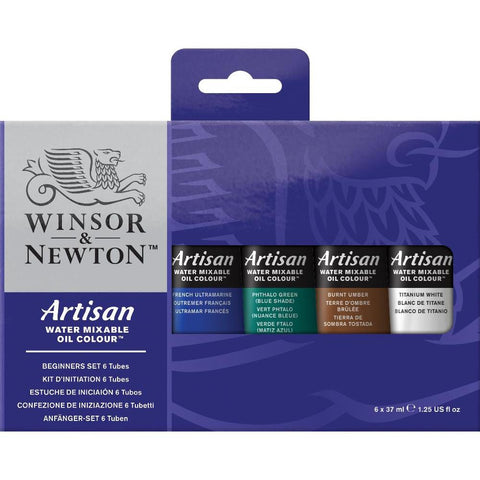 Winsor & Newton Artisan Water Mixable Oil Paint Beginner Set