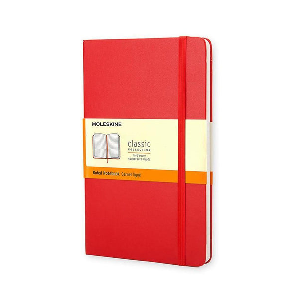 Moleskine Small Ruled Journal - Red