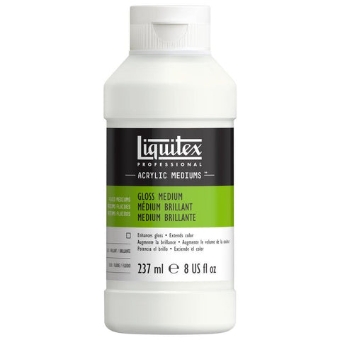 Midoco.ca: Liquitex Professional Gloss Medium 8oz