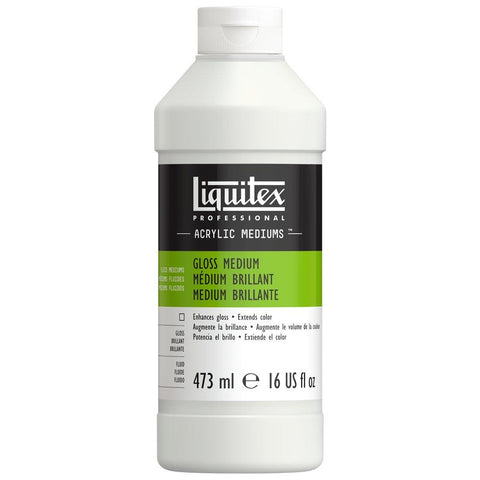 Midoco.ca: Liquitex Professional Gloss Medium 16oz