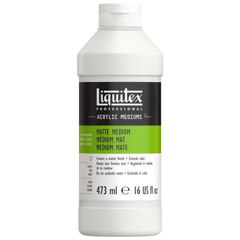 Midoco.ca: Liquitex Professional Matte Medium 16oz