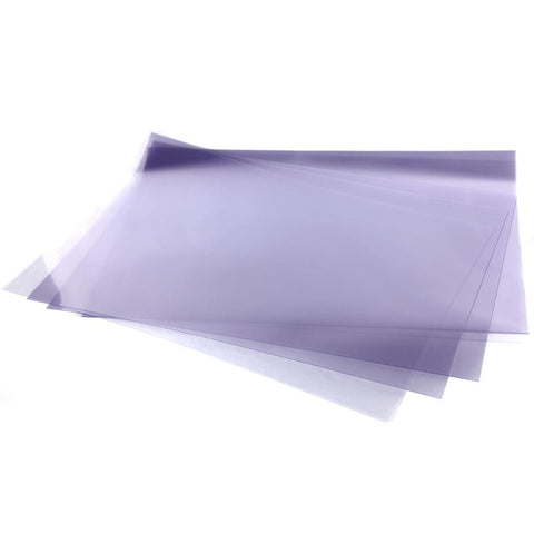 "Midoco.ca: Clear Vinyl Acetate Sheet Single 19""x24"""