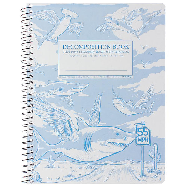 MIDOCO.CA: DECOMPOSITION NOTEBOOK-FLYING SHARKS