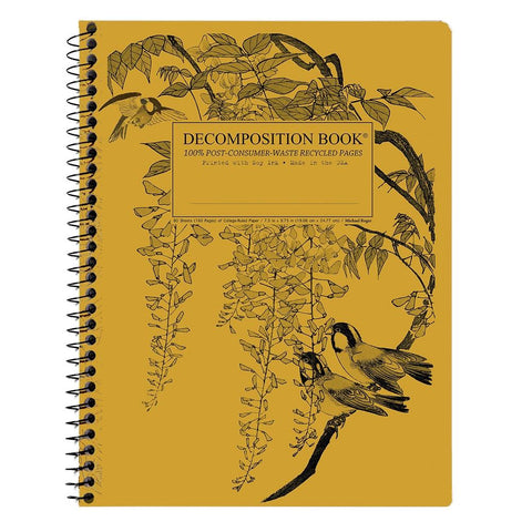 MIDOCO.CA: DECOMPOSITION NOTEBOOK-LEAFY PERCH