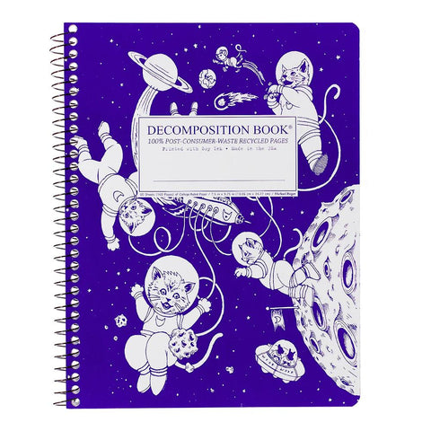 MIDOCO.CA: DECOMPOSITION NOTEBOOK-KITTENS IN SPACE