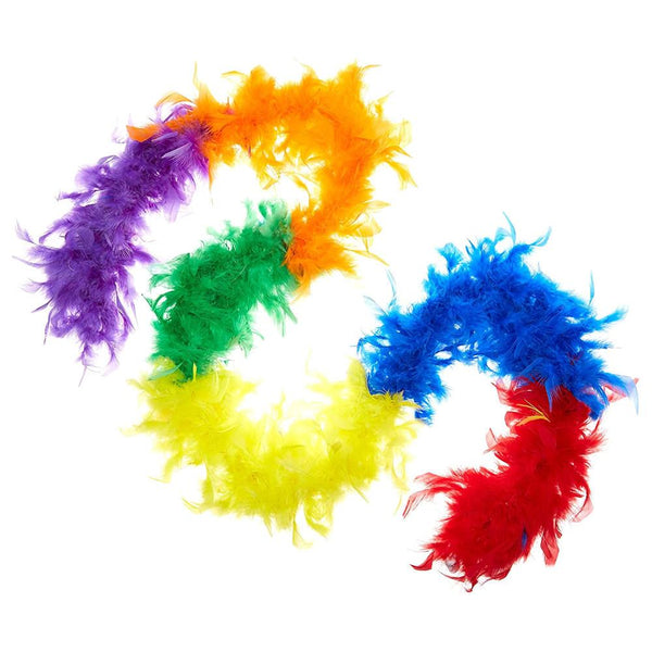 Forum Rainbow Feather Boa