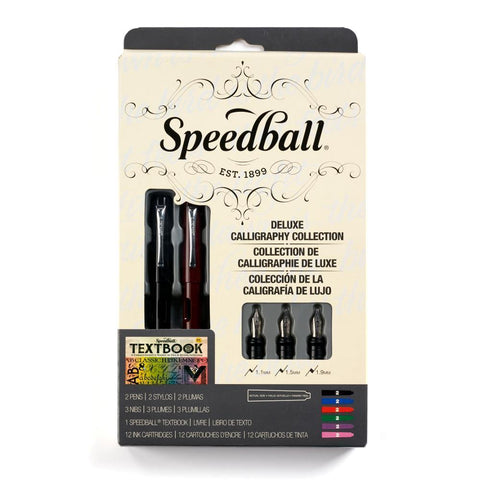Speedball Calligraphy Fountain Pen Set 18pc