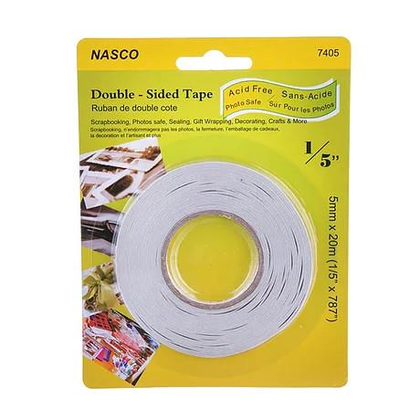 midoco.ca: NASCO Double-Sided White Tape 1/5""
