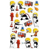 Midoco.ca: Maildor Cooky Stickers Firefighting Panda