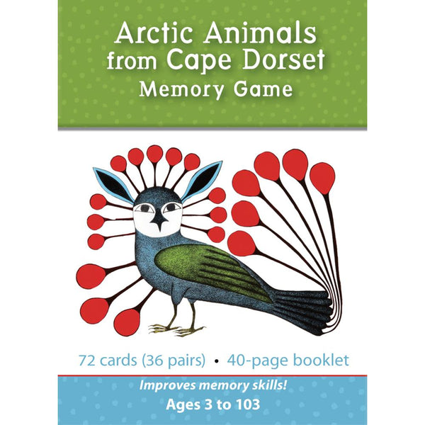 Midoco.ca: Pomegranate Memory Game Arctic Animals