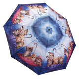 Midoco.ca: Galleria Folding Umbrella Kittens