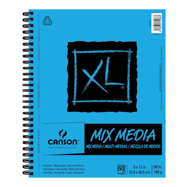 "Canson XL Mixed Media Sketchbook 9""x12"""