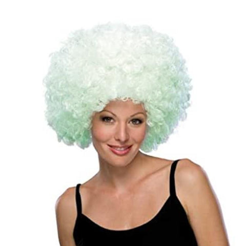 Rubie's Glow-in-the-Dark Pale Green Wig