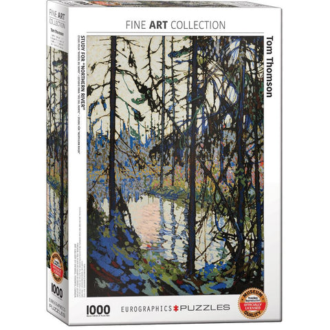 Midoco.ca: Eurographics Tom Thomson 1000pc Puzzle
