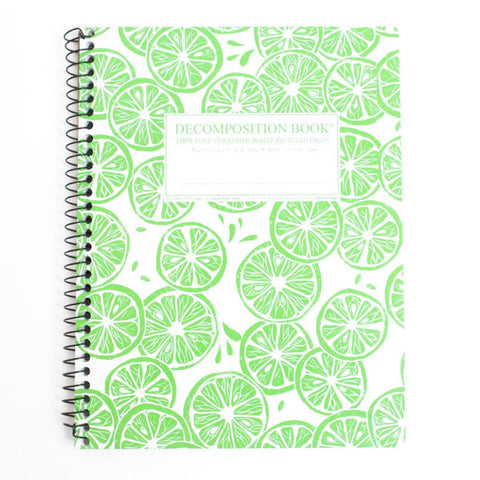 MIDOCO.CA: DECOMPOSITION NOTEBOOK-LIMES