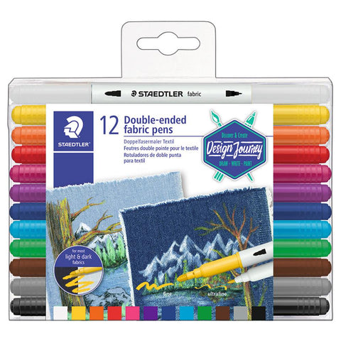 Midoco.ca: Staedtler Fabric Markers 12pk