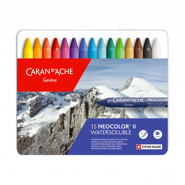 Caran d'Ache Neocolor II Watersoluble 15 Set
