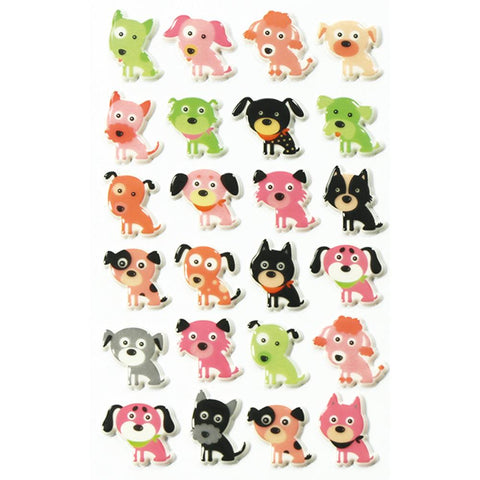Midoco.ca: Cooky Stickers Dogs