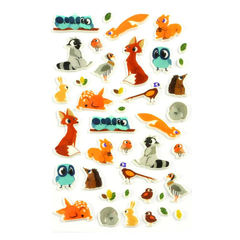 Midoco.ca: Cooky Stickers Forest Animals