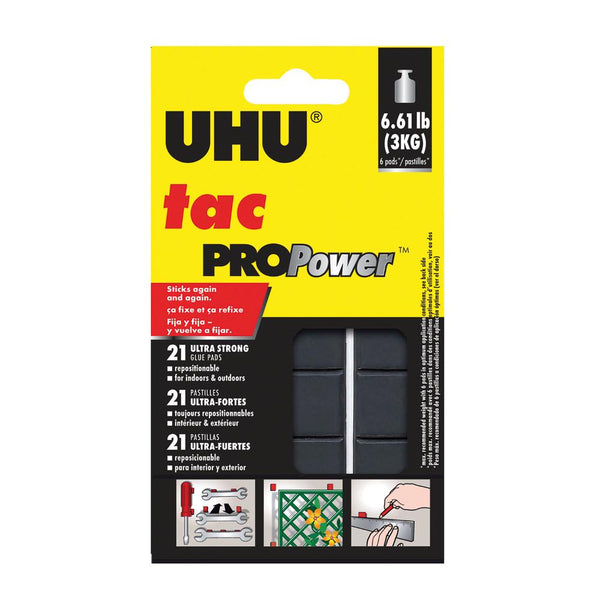 Uhu Tac Propower Reusable TAC 21pc 50g