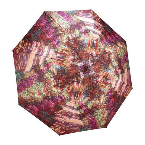 Midoco.ca: Galleria Folding Umbrella Monet's Garden
