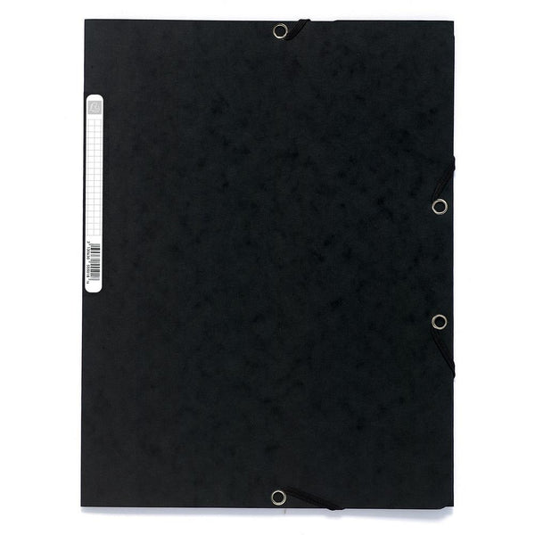 Exacompta-Clairefontaine Folder w/ Elastic Black