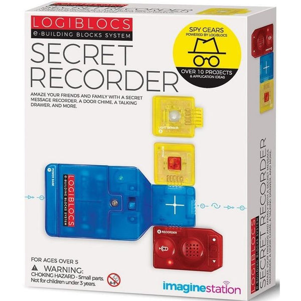 4M Logiblocks Secret Recirder Kit