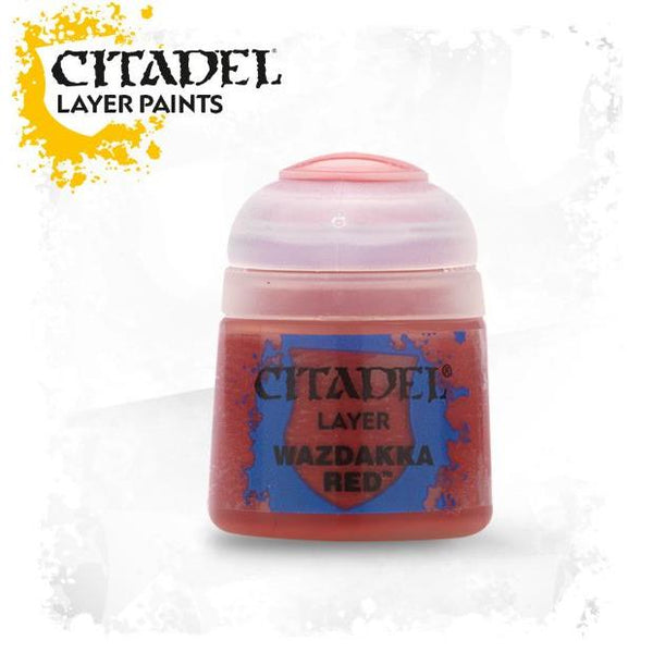 Citadel Acrylic Paint Layer Wazdakka Red