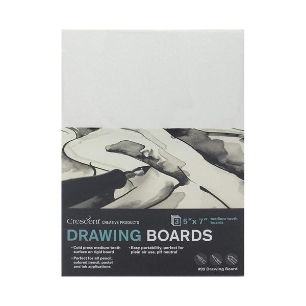 "Crescent Drawing Board 3pk 5""x7"""