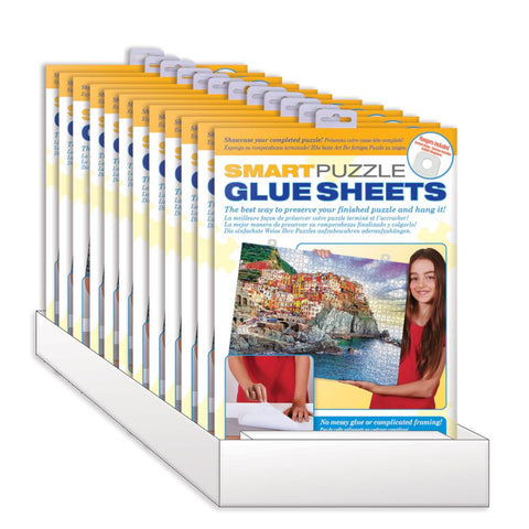 Eurographics Smart Puzzle Glue Sheets 8pk