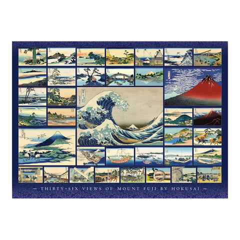 Cobble Hill Hokusai Collage Puzzle 1000pc