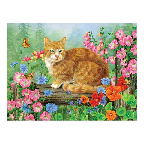 Cobble Hill Perfect Perch Cat Puzzle 275pc