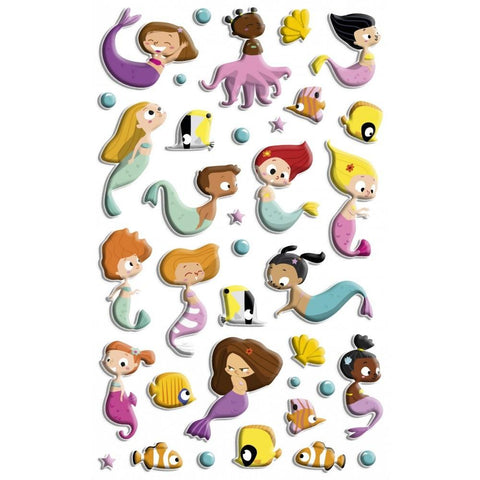 Midoco.ca: Maildor Cooky Mermaids Stickers
