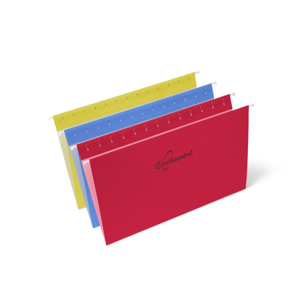 Midoco.ca: Hanging File Folders Legal Size 25pk Assorted