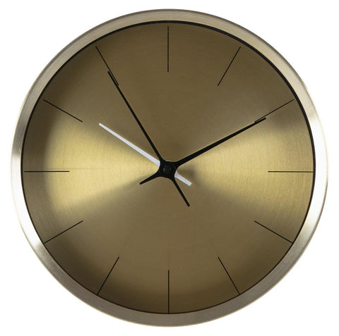 Midoco.ca: Wall Clock Gold