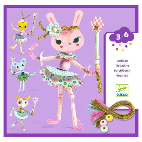 Djeco Fairies Threading Craft Kit