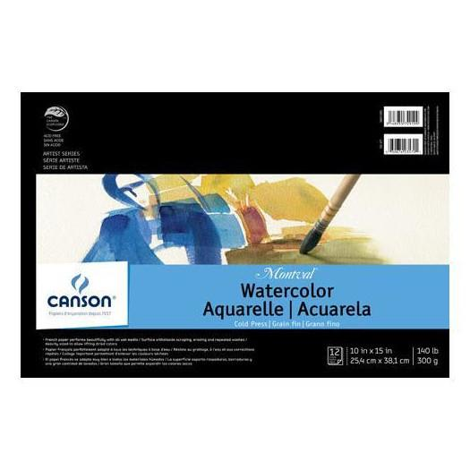 Canson Montval Watercolour Pad 10x15""