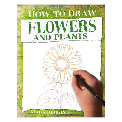 Sterling Publishing How to Draw Flowers & Plants