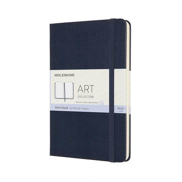 Moleskine Medium Sketch Notebook - Sapphire