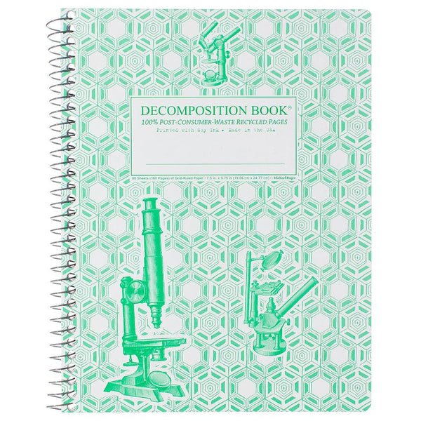 Wire-Bound Decomposition Notebook- Microscopes