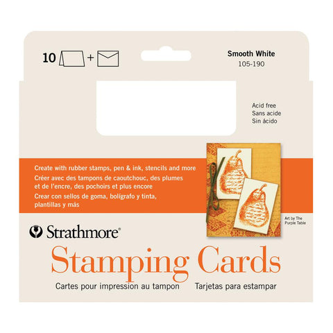 "Midoco.ca: Strathmore Creative Cards 5x6.875"" - Stamping"