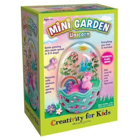Creativity For Kids Unicorn Garden Terrarium Kit
