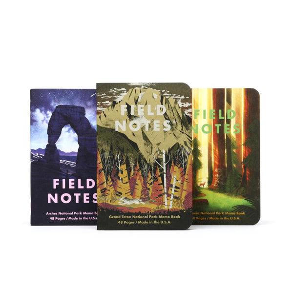 Midoco.ca: Field Notes National Parks 3pk: Series D