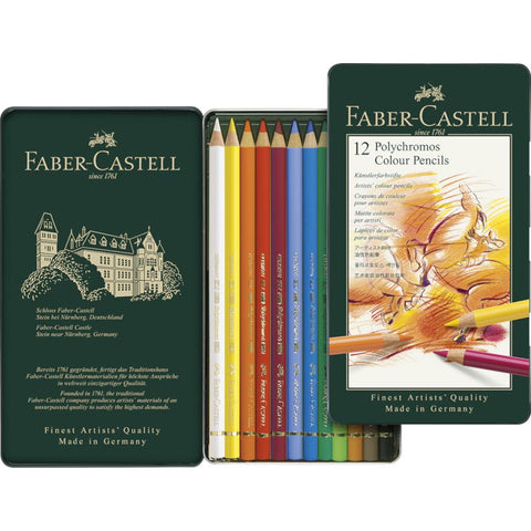 Faber Castell Polychromos Pencil Set 12pk