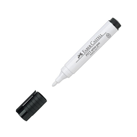 Pitt Artist Pen Big Brush White