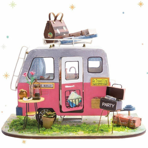 Robotime Mini Happy Camper Model Kit